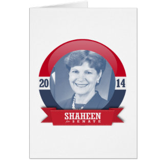 JEANNE SHAHEEN CAMPAIGN GREETING CARDS