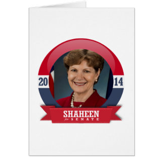JEANNE SHAHEEN CAMPAIGN CARD