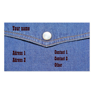 Jeans - Business-card Business Card