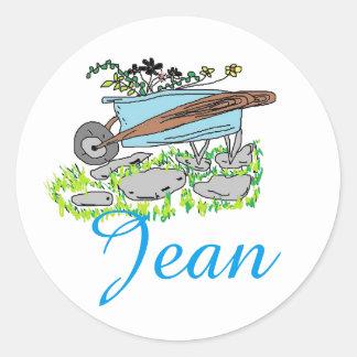Jean's Garden stickers