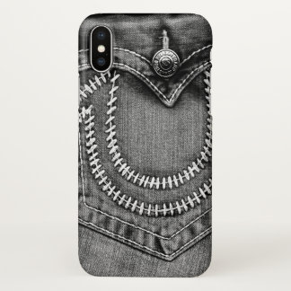 Jeans Pocket iPhone X Case