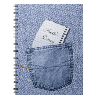 Jeans pocket Notepad Diary Notebook