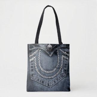 Jeans Pocket Tote Bag
