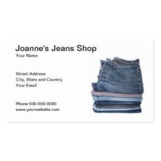 Jeans Shop Business Card