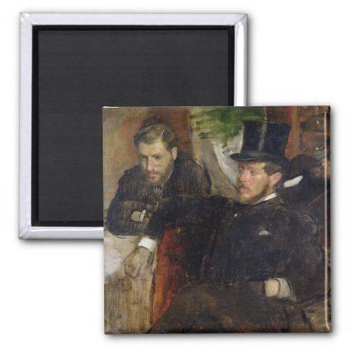 Jeantaud, Linet and Laine, 1871 Fridge Magnets