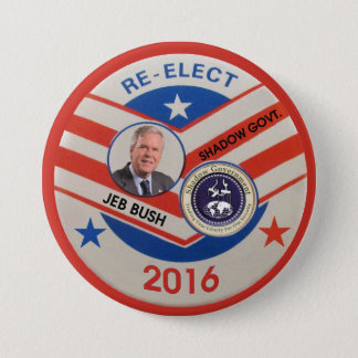 Jeb Bush 2016 7.5 Cm Round Badge