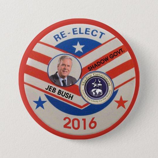 Jeb Bush 2016 7.5 Cm Round Badge
