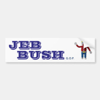 JEB BUSH Bumper Sticker