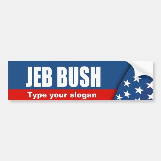JEB BUSH Election Gear Bumper Sticker
