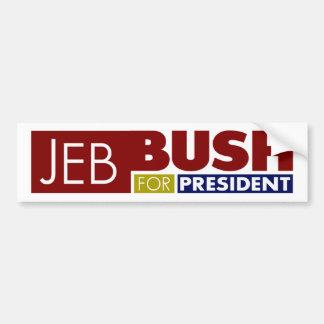 Jeb Bush for President V1 Bumper Sticker