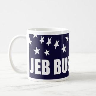 Jeb Bush President 2016 American Flag Basic White Mug