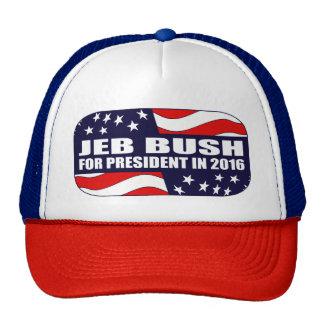 Jeb Bush President 2016 Cap