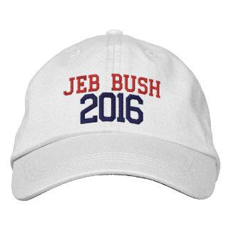 Jeb Bush President 2016 Embroidered Baseball Caps