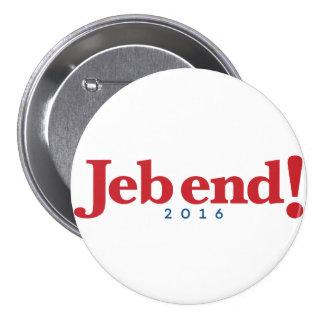 Jeb end! 2016 7.5 cm round badge