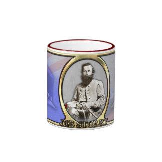 JEB Stuart Civil War Coffee Mugs