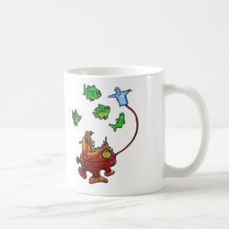 Jebus lantern fish coffee mugs
