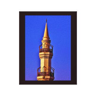 Jeddah Minaret Canvas Print