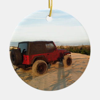 Jeep Christmas Ornament