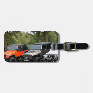 Jeep Club Luggage Tag