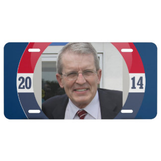 JEFF BELL CAMPAIGN LICENSE PLATE