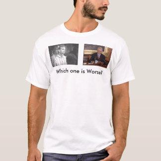 jeff, MAYOR_JOE_RILEY, Which one is Worse? T-Shirt