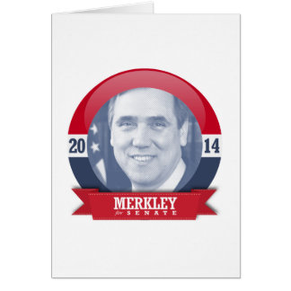 JEFF MERKLEY CAMPAIGN CARD