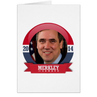 JEFF MERKLEY CAMPAIGN GREETING CARDS