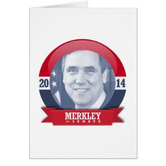 JEFF MERKLEY CAMPAIGN GREETING CARD