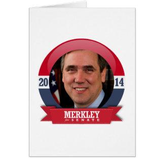 JEFF MERKLEY CAMPAIGN GREETING CARDS
