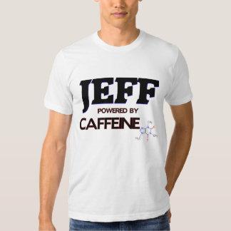 Jeff Powered by Caffeine T Shirts