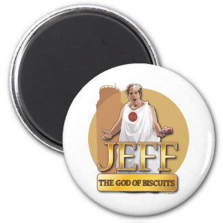 Jeff - The God of Biscuits Refrigerator Magnet