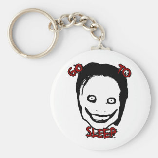Jeff The Killer Basic Round Button Key Ring