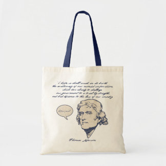 Jefferson1-LTT Budget Tote Bag