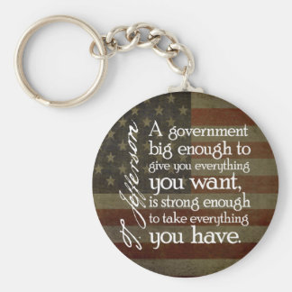Jefferson: Beware of Big Government Key Ring