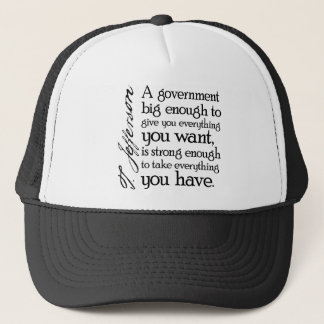 Jefferson: Beware of Big Government Trucker Hat