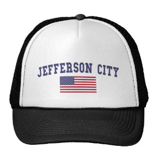 Jefferson City US Flag Cap