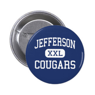 Jefferson Cougars Middle Madison Wisconsin Pinback Button