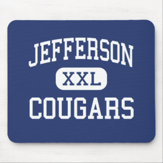 Jefferson Cougars Middle Madison Wisconsin Mousepad