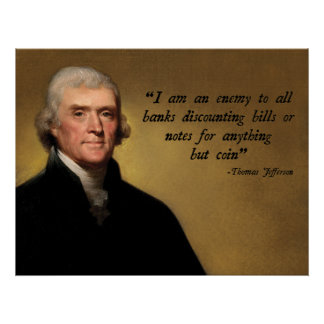 Jefferson Currency Quote Print