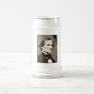 Jefferson Davis Beer Stein Beer Steins