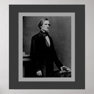 Jefferson Davis - Civil War President Poster