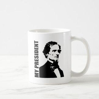 Jefferson Davis - My President Basic White Mug