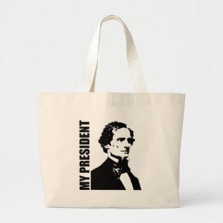 Jefferson Davis - My President Canvas Bag