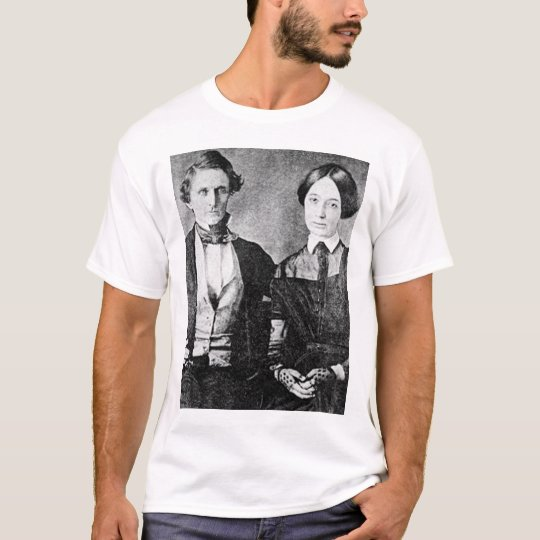 Jefferson Davis Wedding Picture T-Shirt