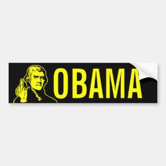 Jefferson Finger Bumper Sticker