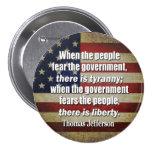 Jefferson: Liberty vs. Tyranny Pin