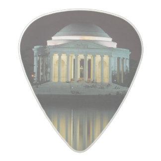 Jefferson Memorial Acetal Guitar Pick