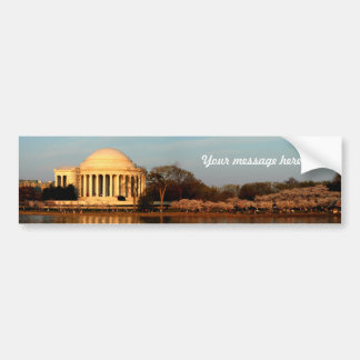 Jefferson  memorial bumper sticker