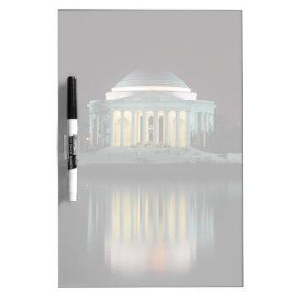 Jefferson Memorial Dry Erase Board