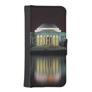 Jefferson Memorial iPhone SE/5/5s Wallet Case